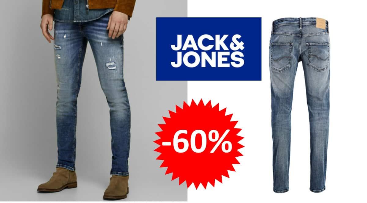 Pantalón vaquero Jack & Jones jjigglenn original barato, vaqueros baratos, ofertas en ropa de marca, chollo