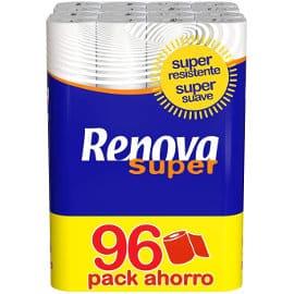 Papel higiénico Renova Super barato, papel higiénico de marca barato, ofertas en supermercado