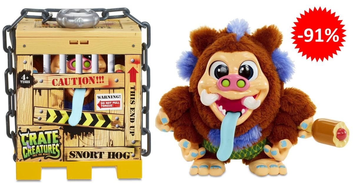 Peluche interactivo Crate Creatures Libera a la Bestia barato, juguetes baratos, ofertas para niños chollo