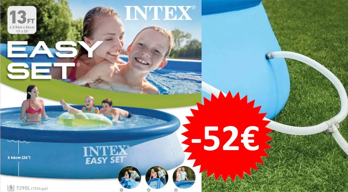 Piscina hinchable Intex Easy Set barata. Ofertas en piscinas, piscinas baratas, chollo