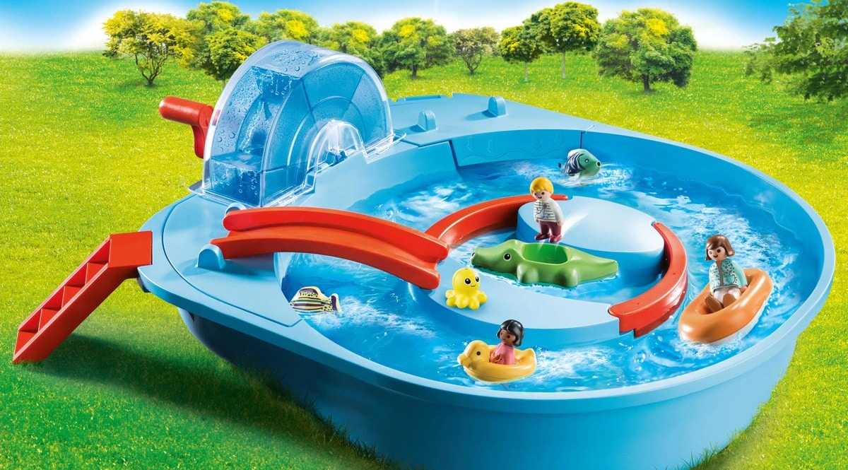 Playmobil 1.2.3 Parque Acuático barato, juguetes baratos, ofertas para niños chollo