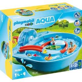 Playmobil 1.2.3 Parque Acuático barato, juguetes baratos, ofertas para niños