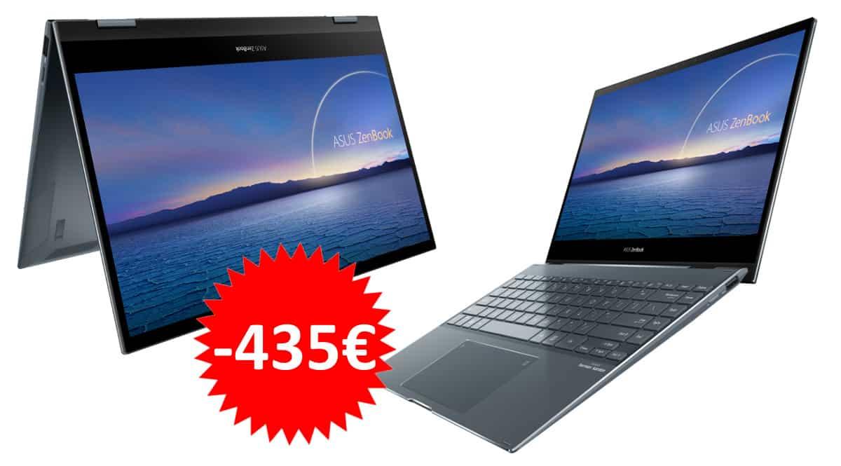 Portátil Asus Zenbook Flip 13 UX363EA-EM087T barato. Ofertas en portátiles, portátiles baratos, chollo