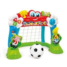 Portería interactiva cuenta goles Baby Clementoni barata, porterías de fútbol de marca baratas, ofertas en juguetes, chollo