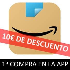Promoción primera compra en App Amazon
