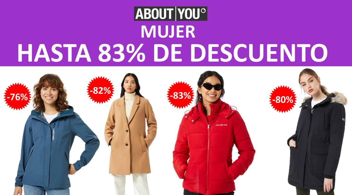 Rebajas de primavera en About You para mujer, ropa de marca barata, ofertas en ropa chollo