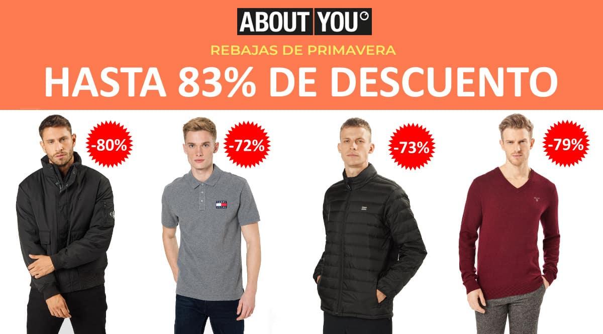 Rebajas de primavera en About You, ropa de marca barata, ofertas en ropa chollo