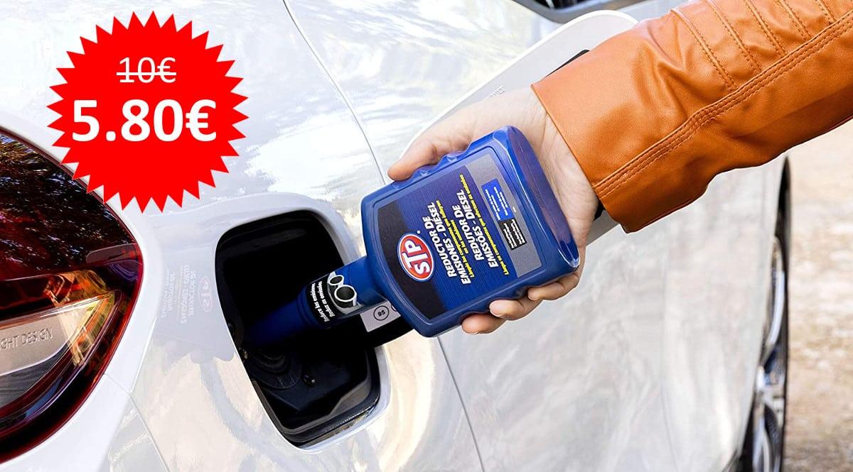 ¡Precio mínimo histórico! Reductor de emisiones diésel STP ST79400SP (400ml) sólo 5.80 euros.