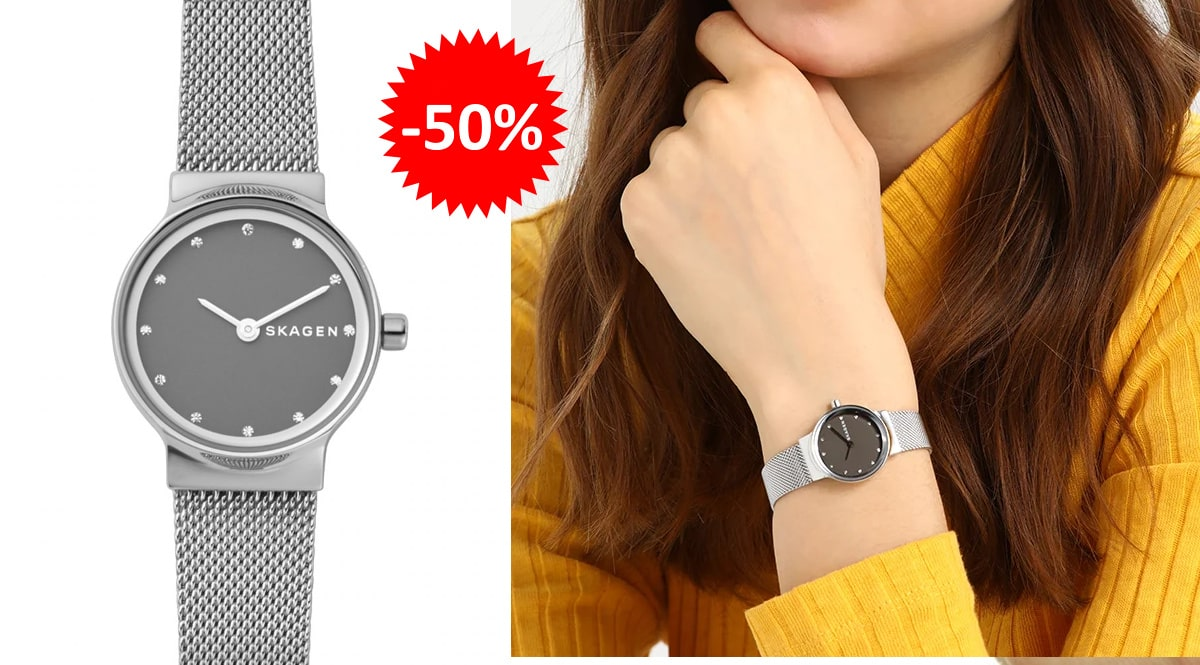 Reloj Skagen Freja para mujer barato, relojes baratos, ofertas en relojes chollo