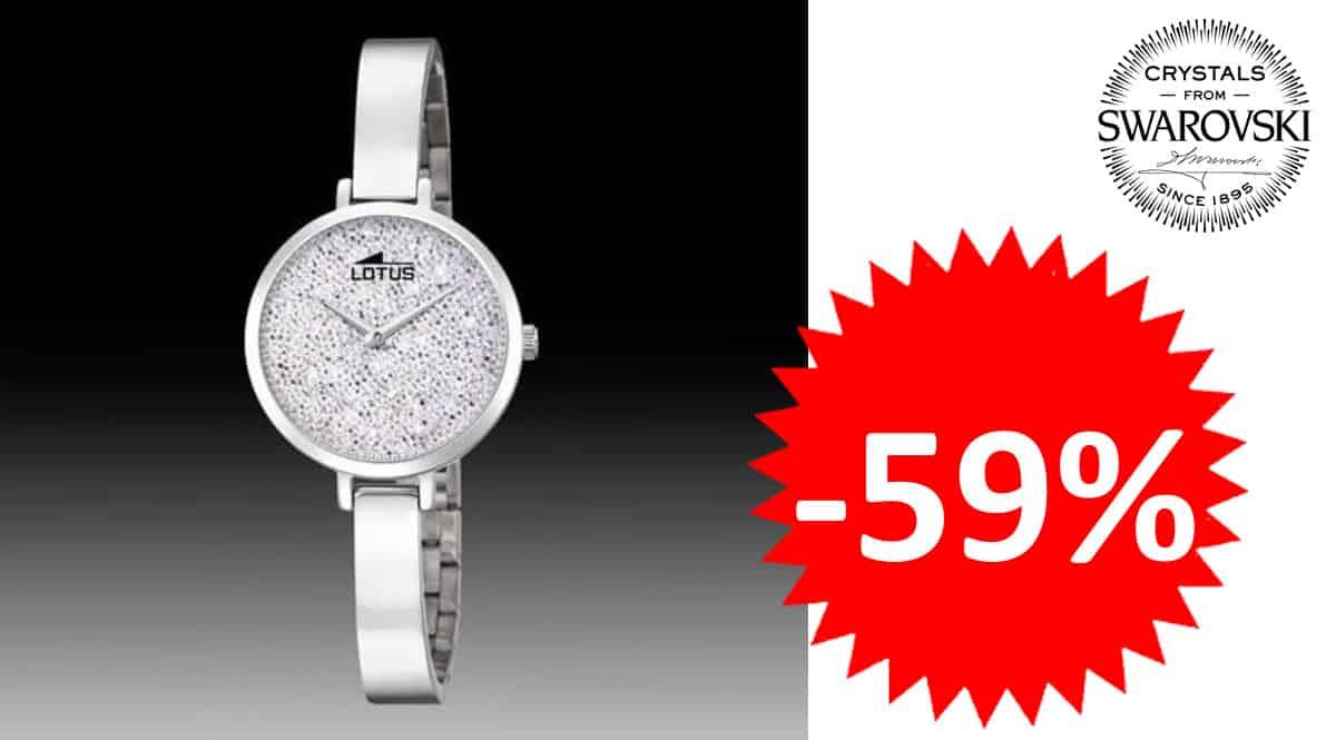 Reloj para mujer Lotus BLISS 18561-1 Swarovski barato, relojes de marca baratos, ofertas joyería, chollo