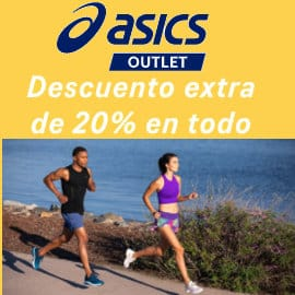 Ropa de deporte y zapatillas Asics baratas, ofertas en ropa y zapatillas de marca baratas, ofertas material deportivo de marca