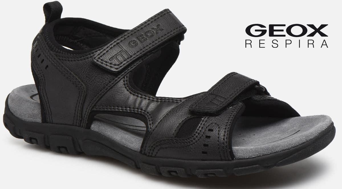 Sandalias para hombre Geox Uomo Sandal Strada A baratas, sandalias de marca baratas, ofertas en calzado, chollo