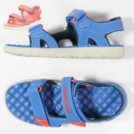 Sandalias para niños Timberland Perkins Row 2-Strap baratas, sadalias de marca baratas, ofertas en calzado para niños
