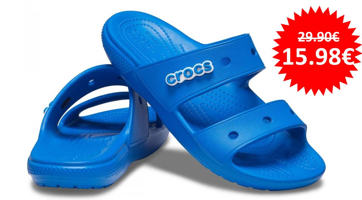 Sandalias unisex Crocs Classic Sandal baratas, sandalias de marca baratas, ofertas calzado, chollo