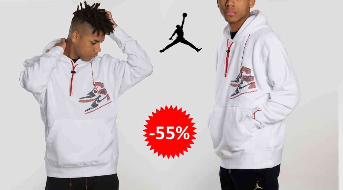 Sudadera Jordan Jumpan Holiday barata, ropa de marca barata, ofertas en sudaderas chollo