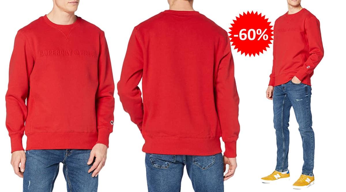 Sudadera Superdry Sportstyle barata, ropa de marca barata, ofertas en sudaderas chollo