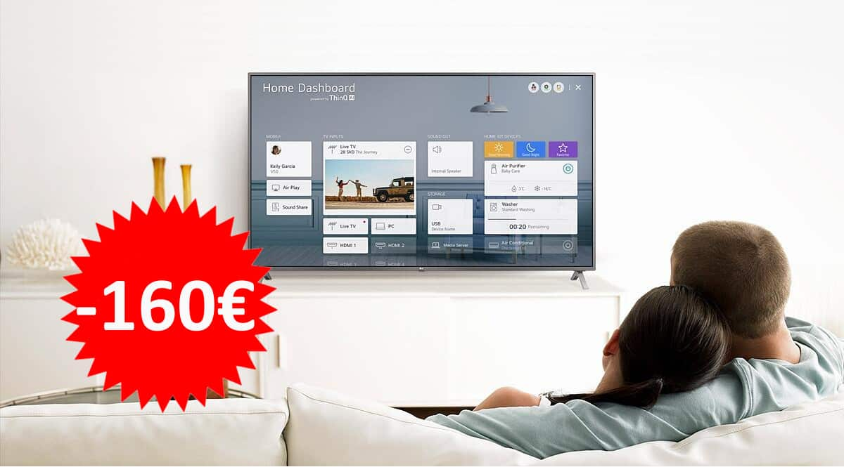 Televisor LG 43UN7100 barato. Ofertas en televisores, televisores baratos, chollo