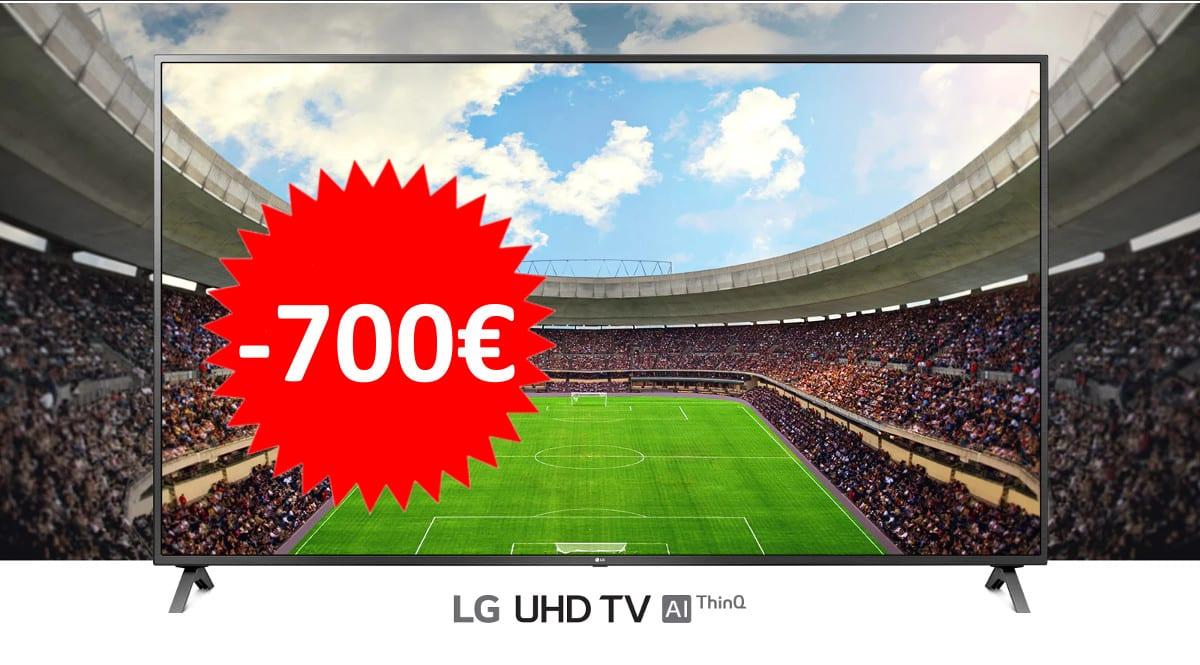 Televisor LG 75UN85006LA barato. Ofertas en televisores, televisores baratos, chollo