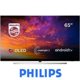 ¡Precio mínimo histórico! Televisor OLED 4K de 65″ Philips 65OLED854/12 sólo 1549 euros. Te ahorras 949 euros.