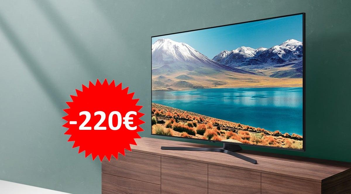 Televisor Samsung Crystal UE50TU8505UXXC barato. Ofertas en televisores,televisores baratos,chollo
