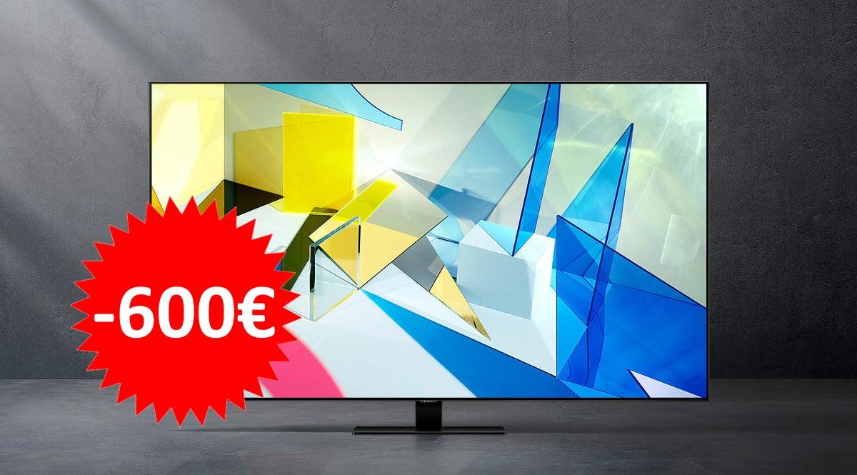 Televisor Samsung QLED QE50Q80T barato. Ofertas en televisores, televisores baratos,chollo