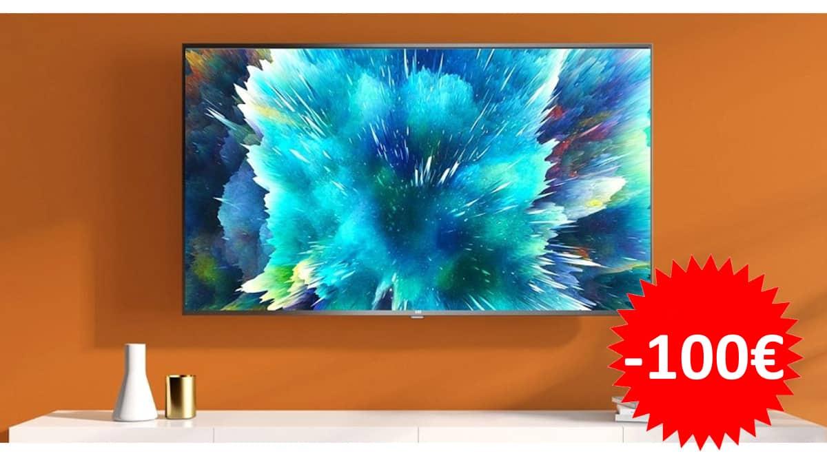 Televisor de 43 pulgadas Xiaomi Mi TV 4S barato. Ofertas en televisores, televisores baratos, chollo