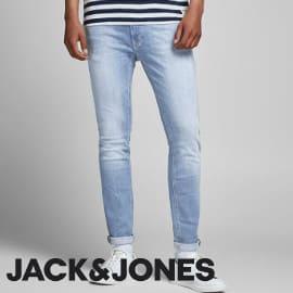¡¡Chollo!! Vaqueros skinny para hombre Jack & Jones Liam Original Agi 002 sólo 19.99 euros. 50% de descuento.