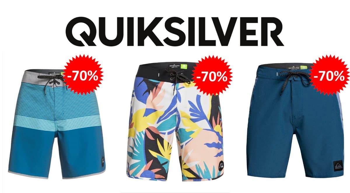 Venta Flash bañadores Quiksilver baratos, ropa de marca barata, ofertas en bañadores chollo