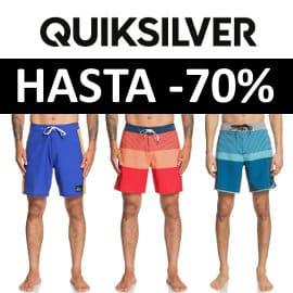 Venta Flash bañadores Quiksilver baratos, ropa de marca barata, ofertas en bañadores