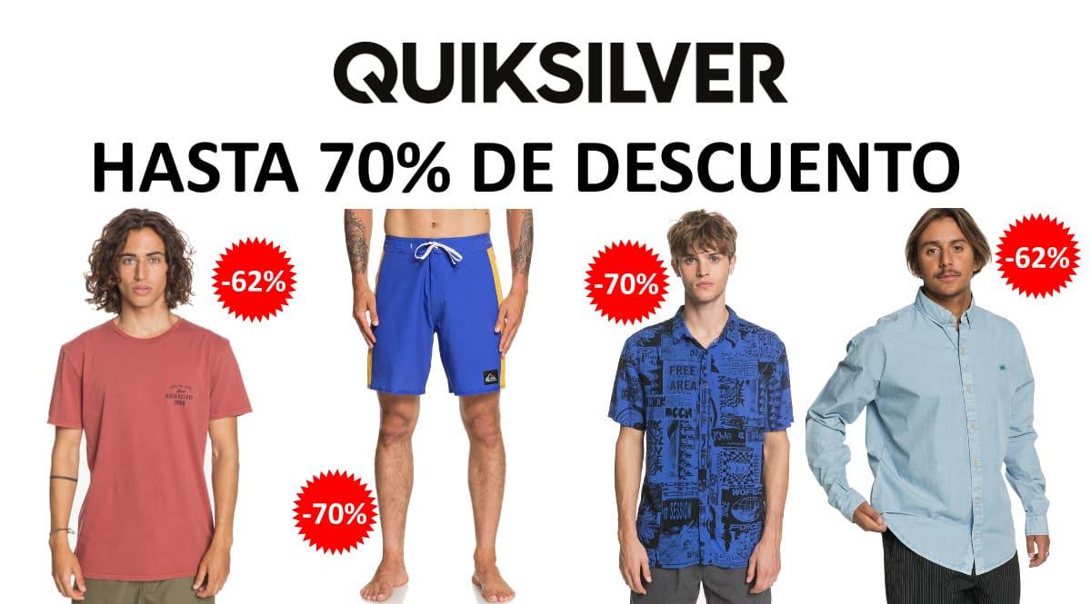 Ventas Flash en Quiksilver, ropa de marca barata, ofertas en moda chollo