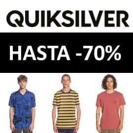 Ventas Flash en Quiksilver, ropa de marca barata, ofertas en moda