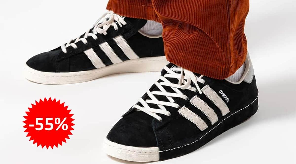 Zapatillas Adidas Campus 80s x Recouture baratas, calzado de marca barato, ofertas en zapatillas chollo
