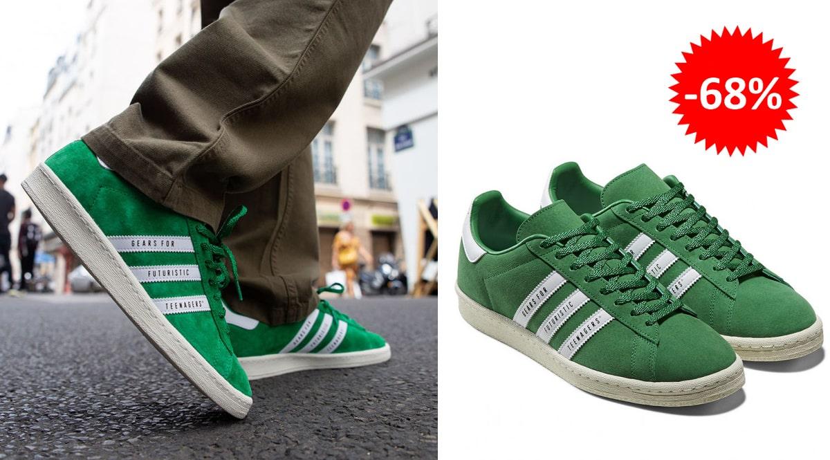 Zapatillas Adidas Campus x Human Made baratas, calzado de marca barato, ofertas en zapatillas chollo