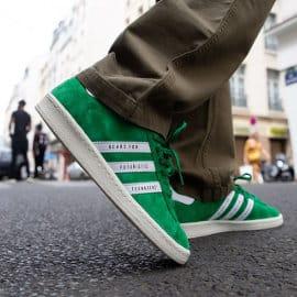 Zapatillas Adidas Campus x Human Made baratas, calzado de marca barato, ofertas en zapatillas