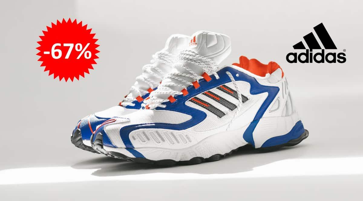 Zapatillas Adidas Torsion TRDC blancas baratas, calzado de marca barato, ofertas en zapatillas chollo