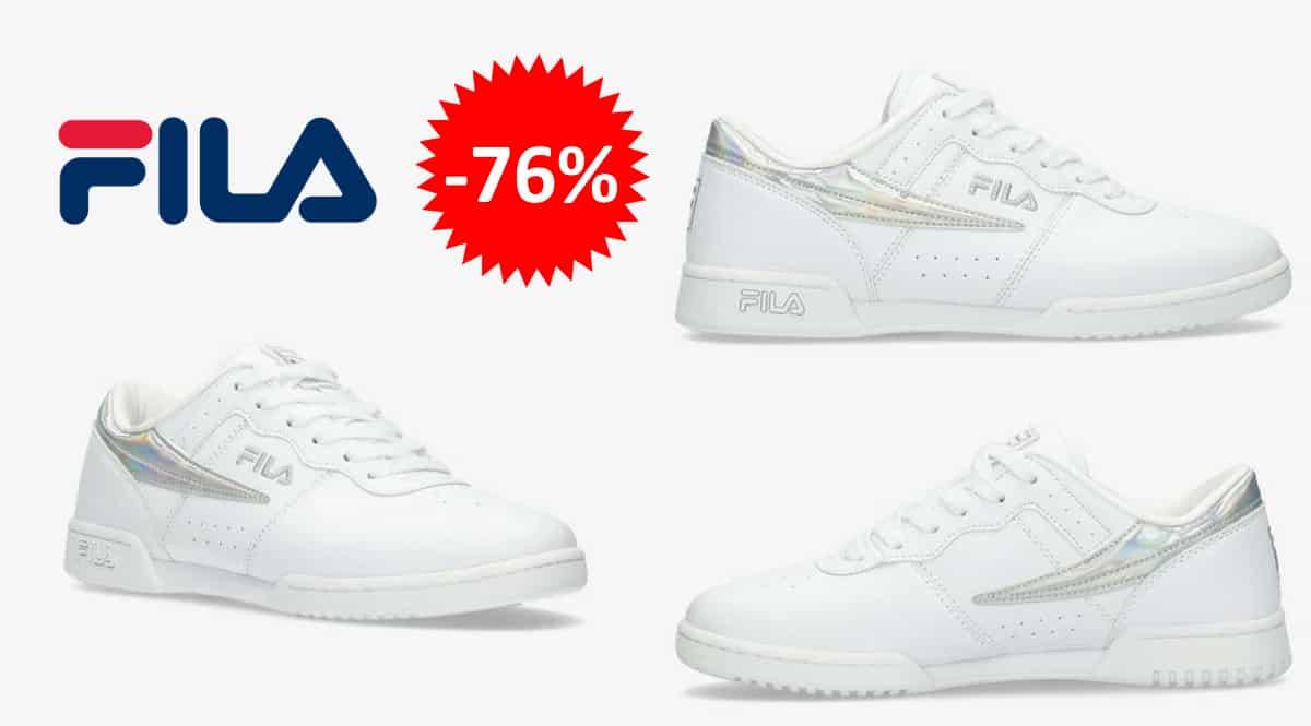 Zapatillas Fila Original Fitness baratas, calzado de marca barato, ofertas en zapatillas chollo