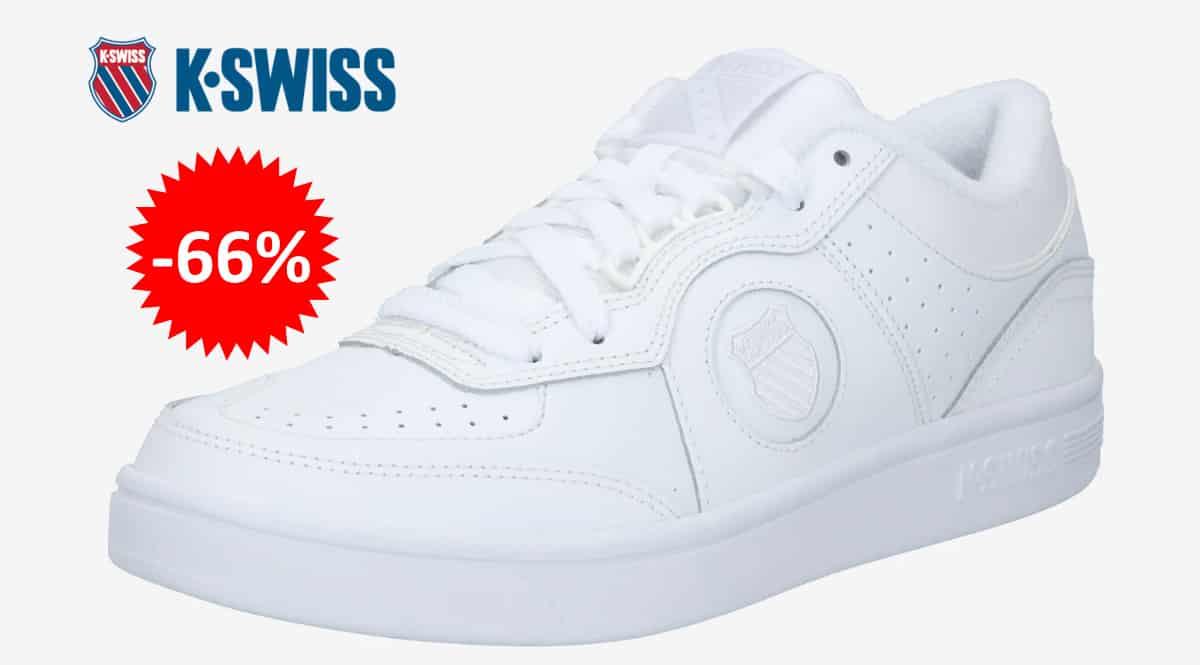 Zapatillas K-Swiss Topspin baratas, calzado de marca barato, ofertas en zapatillas chollo