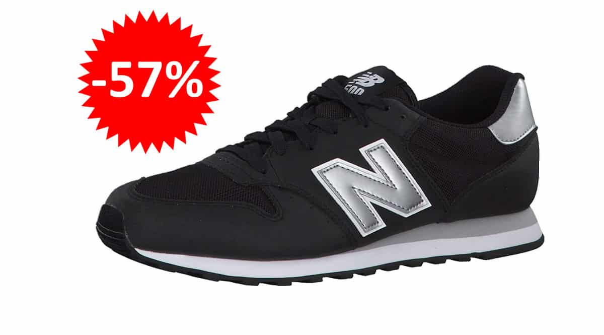 ¡¡Chollo!! Zapatillas New Balance 500 sólo 32 euros. 57% de descuento.