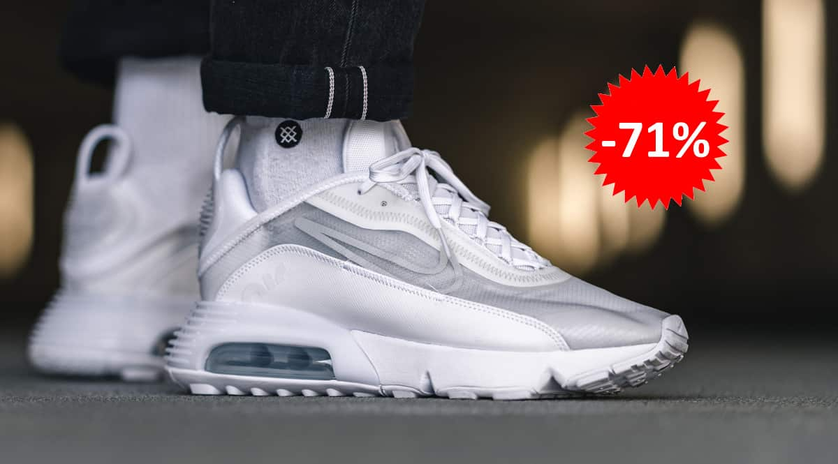 Zapatillas Nike Air Max 2090 blancas baratas, calzado de marca barato, ofertas en zapatillas chollo