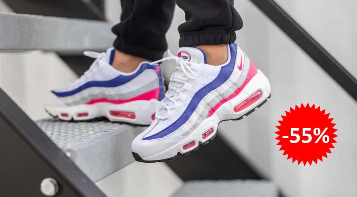 Zapatillas Nike Air Max 95 PRM para mujer baratas, calzado de marca barato, ofertas en zapatillas chollo