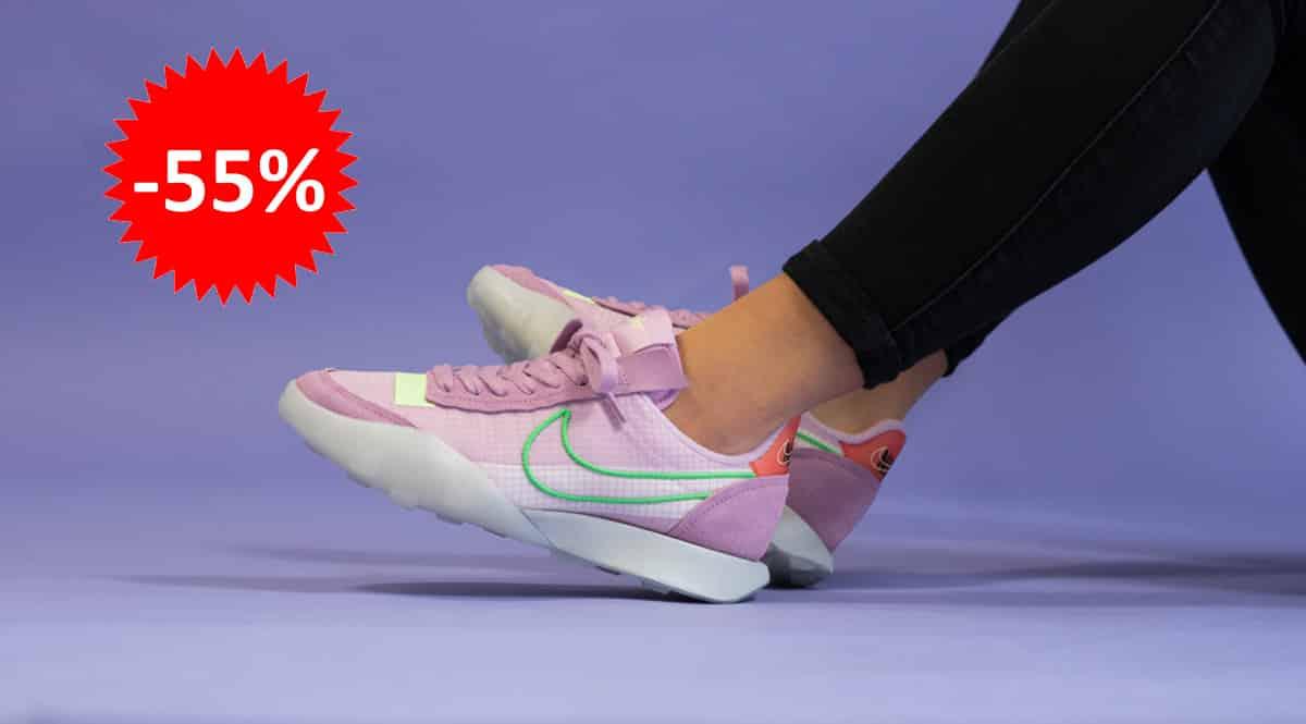 Zapatillas Nike Waffle Racer 2X baratas, calzado de marca barato, ofertas en zapatillas chollo