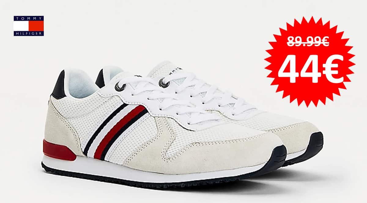 Zapatillas Tommy Hilfiger Iconic Mix Runner baratas, zapatillas de marca baratas, ofertas en calzado, chollo