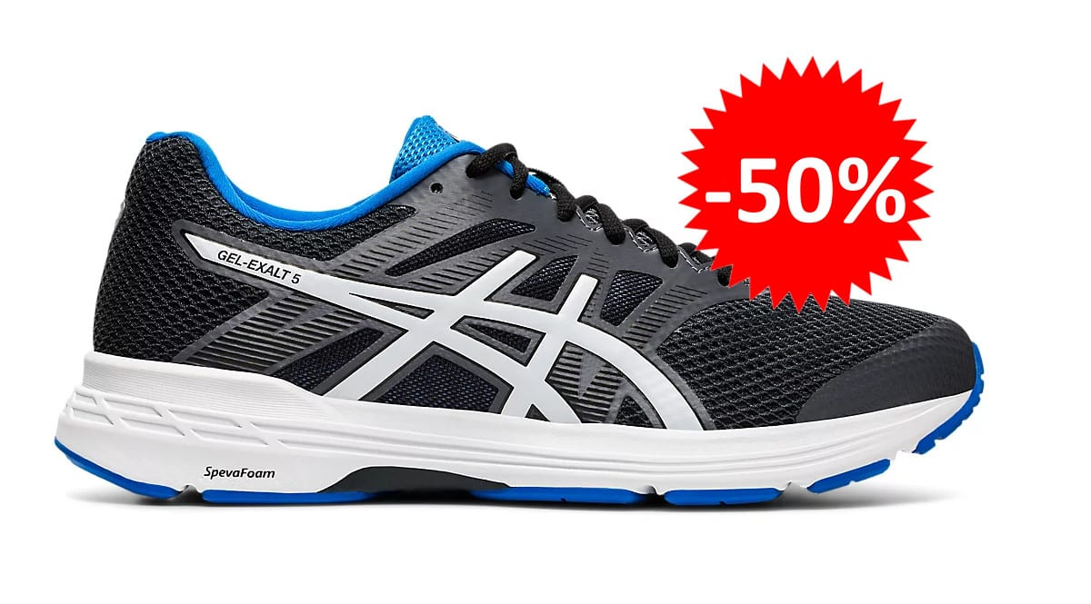 Zapatillas de running Asics Gel Exalt 5 baratas. Ofertas en zapatillas de running, zapatillas de running baratas, chollo