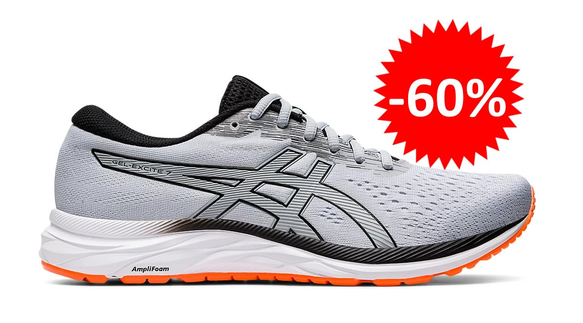 Zapatillas de running Asics Gel-Excite 7 baratas. Ofertas en zapatillas de running, zapatillas de running baratas, chollo