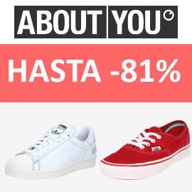 Zapatillas deportivas baratas en About You, calzado de marca barato, ofertas en zapatillas