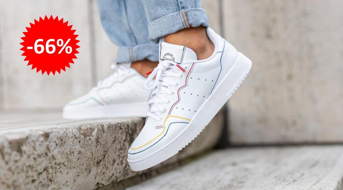 Zapatillas unisex Adidas Supercourt baratas, calzado de marca barato, ofertas en zapatillas chollo