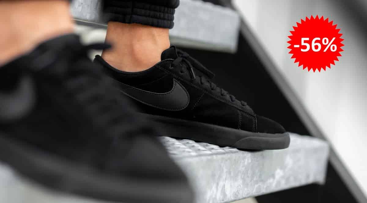 Zapatillas unisex Nike Blazer Low baratas, calzado de marca barato, ofertas en zapatillas chollo