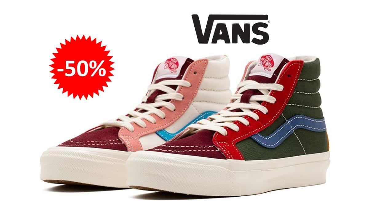 Zapatillas unisex Vans UA OG SK8-HI LX baratas, calzado de marca barato, ofertas en zapatillas chollo