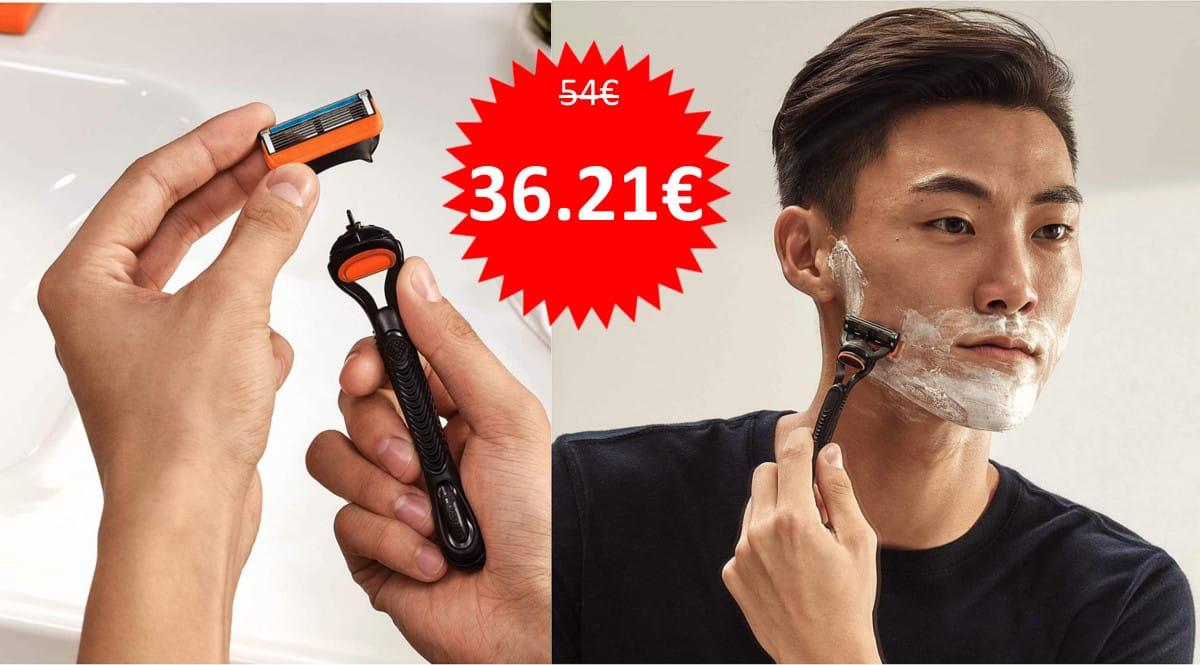 16 recambios Gillette Fusion5 baratos. Ofertas de supermercado, chollo