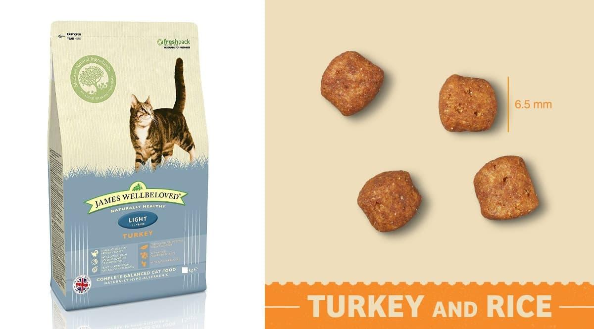 4kg de pienso para gatos James Wellbeloved barato, productos para mascotas baratos, ofertas para gatos chollo